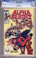 Alpha Flight #5 CGC 9.6 w Winnipeg