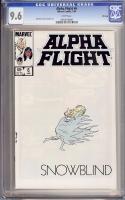 Alpha Flight #6 CGC 9.6 w Winnipeg