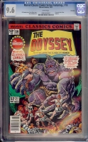 Marvel Classics Comics Series Featuring... #18 CGC 9.6 w Winnipeg