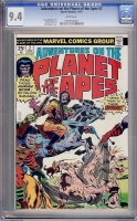 Adventures on the Planet of the Apes #2 CGC 9.4 w