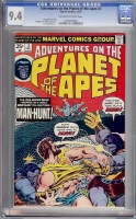 Adventures on the Planet of the Apes #3 CGC 9.4 ow/w