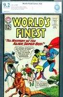 World's Finest Comics #124 CBCS 9.2 ow/w
