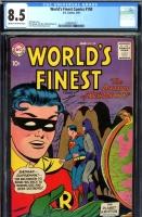 World's Finest Comics #100 CGC 8.5 cr/ow