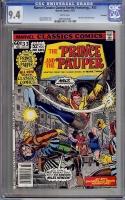 Marvel Classics Comics Series Featuring... #33 CGC 9.4 w Winnipeg
