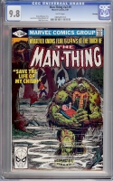 Man-Thing Vol 2 #9 CGC 9.8 w Winnipeg
