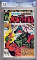 Man-Thing Vol 2 #11 CGC 9.8 w Winnipeg