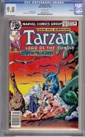 Tarzan #22 CGC 9.8 w Winnipeg