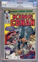 King Conan #2 CGC 9.6 w Winnipeg
