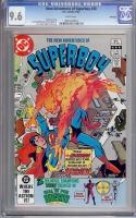 New Adventures of Superboy #30 CGC 9.6 w Winnipeg