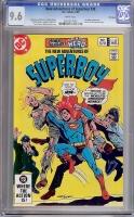 New Adventures of Superboy #38 CGC 9.6 w Winnipeg