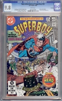 New Adventures of Superboy #39 CGC 9.8 w Winnipeg
