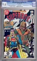New Adventures of Superboy #41 CGC 9.6 w Winnipeg