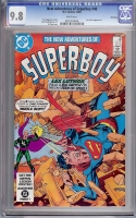 New Adventures of Superboy #48 CGC 9.8 w Winnipeg