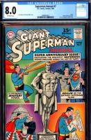 Superman Annual #7 CGC 8.0 ow