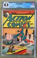 Action Comics #28 CGC 8.0 n/a
