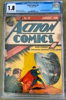 Action Comics #20 CGC 1.8 n/a