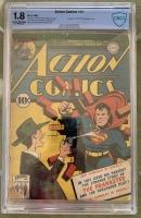 Action Comics #51 CBCS 1.8 n/a