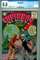 Superboy #49 CGC 5.5 ow/w