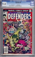 Defenders #43 CGC 9.4 w Winnipeg