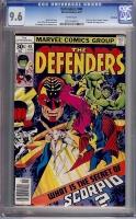 Defenders #48 CGC 9.6 w Winnipeg