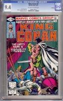 King Conan #6 CGC 9.4 ow/w Winnipeg