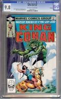 King Conan #9 CGC 9.8 w Winnipeg
