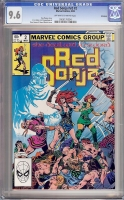 Red Sonja Vol 2 #2 CGC 9.6 ow/w Winnipeg