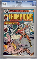 Champions #5 CGC 9.4 w Winnipeg