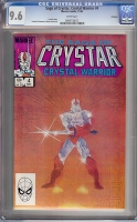 Saga of Crystar, Crystal Warrior #4 CGC 9.6 w Winnipeg