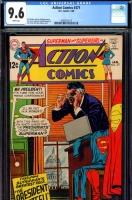 Action Comics #371 CGC 9.6 w