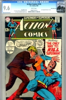 Action Comics #376 CGC 9.6 w Rocky Mountain