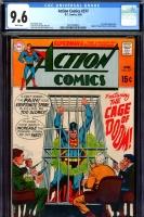 Action Comics #377 CGC 9.6 w