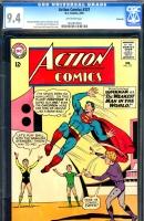 Action Comics #321 CGC 9.4 ow Savannah