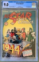 All Star Comics #21 CGC 9.0 n/a