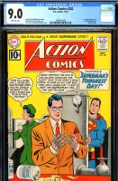 Action Comics #282 CGC 9.0 ow