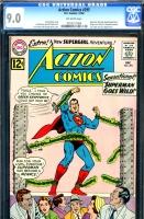 Action Comics #295 CGC 9.0 ow