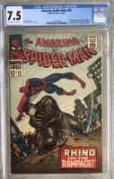 Amazing Spider-Man #43 CGC 7.5 n/a