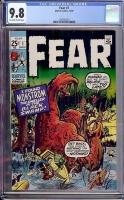 Fear #1 CGC 9.8 ow/w