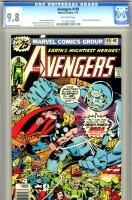 Avengers #149 CGC 9.8 ow