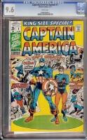 Captain America Annual #1 CGC 9.6 w