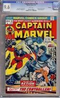 Captain Marvel #30 CGC 9.6 w Winnipeg