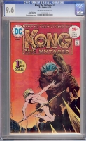Kong the Untamed #1 CGC 9.6 ow/w