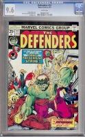 Defenders #22 CGC 9.6 w
