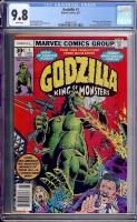 Godzilla #1 CGC 9.8 w
