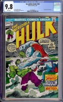 Incredible Hulk #165 CGC 9.8 w