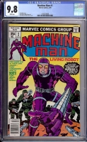 Machine Man #1 CGC 9.8 w