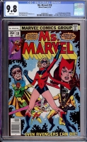 Ms. Marvel #18 CGC 9.8 w