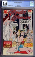 Wonder Woman #207 CGC 9.6 ow/w