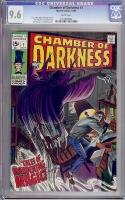 Chamber of Darkness #1 CGC 9.6 w