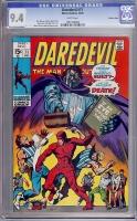 Daredevil #71 CGC 9.4 w Western Penn